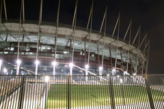 New Polish national stadium - Euro 2012 Royalty Free Stock Photo