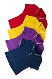 New polo shirts Stock Photo