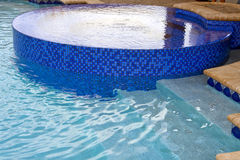 New pool within a pool Royalty Free Stock Images