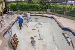 Free New Pool Tile Border Pool Remodel Royalty Free Stock Photos - 60174658