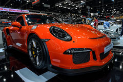The New PORSCHE 911 GT3 RS Royalty Free Stock Photo