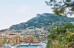 The New Port of Monaco Stock Photography
