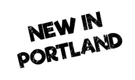 New In Portland rubber stamp Stock Images