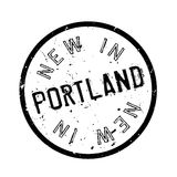 New In Portland rubber stamp Royalty Free Stock Photos