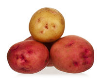 New potato Royalty Free Stock Photography