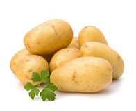 New potato and green parsley Royalty Free Stock Photo