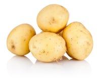 New potato isolated on white background Royalty Free Stock Image