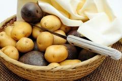 New Potatoes Stock Photography