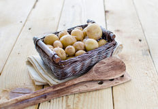 New potatoes Stock Photos