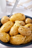 New potatoes in a bowl  Royalty Free Stock Photography
