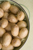 New Potatoes In Colander Royalty Free Stock Photography