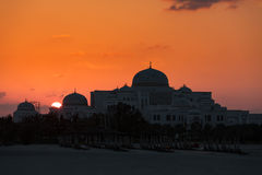 New Presidential Palace in Abu Dhabi Royalty Free Stock Photo