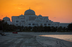 New Presidential Palace in Abu Dhabi Royalty Free Stock Photography