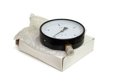 New pressure gauge. Royalty Free Stock Images