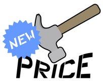 New price Royalty Free Stock Image