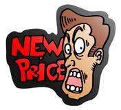 New price expressive Royalty Free Stock Photos