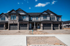 New private houses in Kitchener Stock Image
