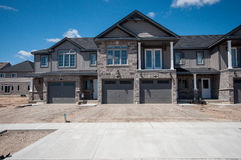 New private houses in Kitchener Stock Photography
