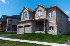 New private houses in Kitchener Stock Photo