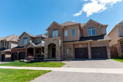 New private houses in Kitchener Stock Images