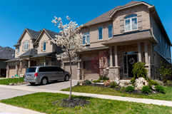 New private houses in Kitchener stock photos