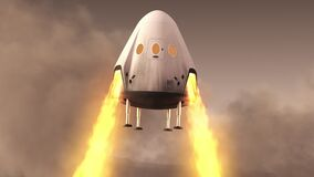 New Private Spacecraft Module Lands On Planet Mars