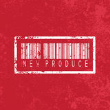 New produce vintage abstract grunge red Royalty Free Stock Image
