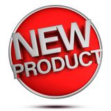 New Product 3d. Royalty Free Stock Images