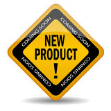 New product coming soon. Vector illustration Royalty Free Stock Photo