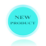New Product icon or symbol image concept design with business fo Stock Images