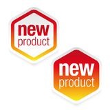 New product label tag sign. Vector Royalty Free Stock Photo