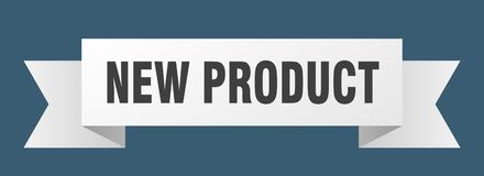 New product ribbon. New product banner. sign. new product vector illustration