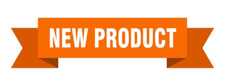 New product ribbon. New product banner. sign. new product royalty free illustration