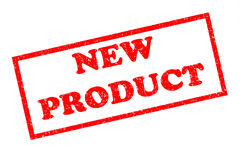 New product rubber stamp Stock Photos
