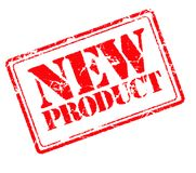 New product rubber stamp Stock Image