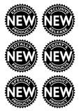 New Product Seal stock illustration