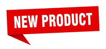New product speech bubble. New product sign. new product vector illustration