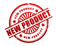 New product stamp concept 3d illustration Royalty Free Stock Photos