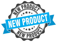 New product stamp Stock Photography