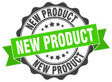 New product stamp Stock Photo