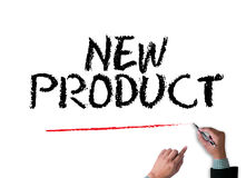 NEW PRODUCT think Innovation Launch Marketing Royalty Free Stock Images
