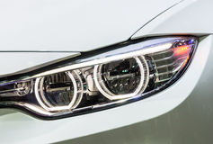 New projector headlight Stock Images