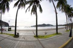 New promenade walkway san jual del sur nicaragua Stock Images