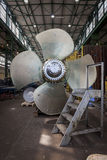 New propeller in the hall Stock Photography