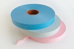 New punched tapes Royalty Free Stock Photo