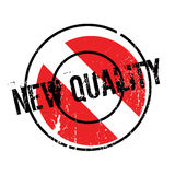 New Quality rubber stamp Royalty Free Stock Photos