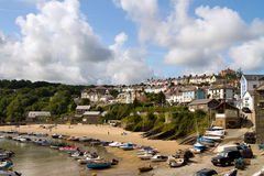 New quay beach Royalty Free Stock Photos