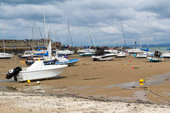 New Quay Harbour Wales Royalty Free Stock Photography