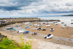 New Quay Harbour Wales Royalty Free Stock Images