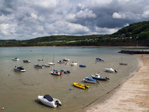 New Quay Harbour Wales Stock Photography